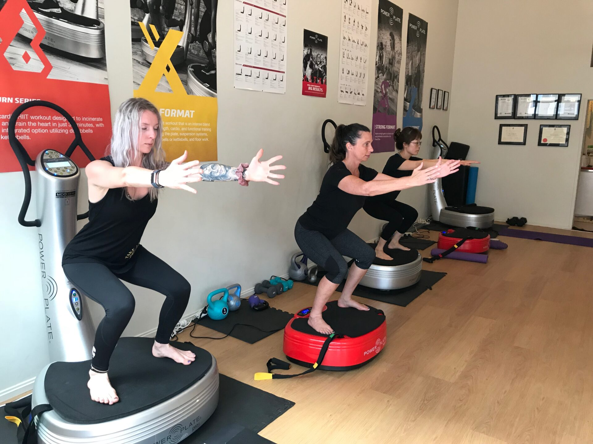 game-changing results with Power Plate